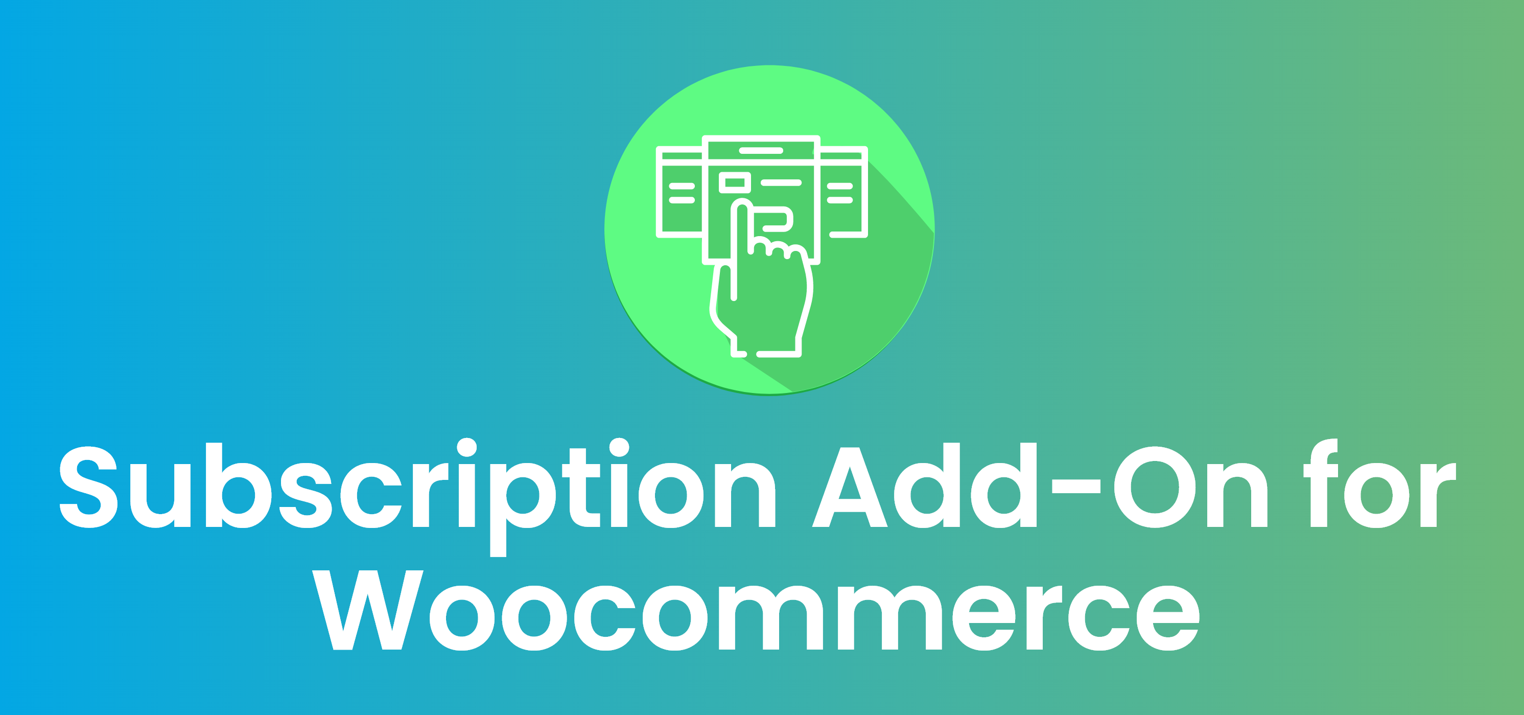 Subscriptions Add-On for WooCommerce