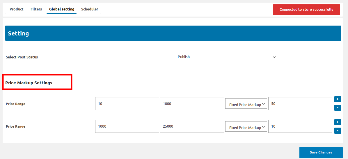 price markup