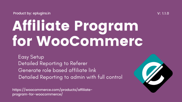Affiliate Program For WooCommerce