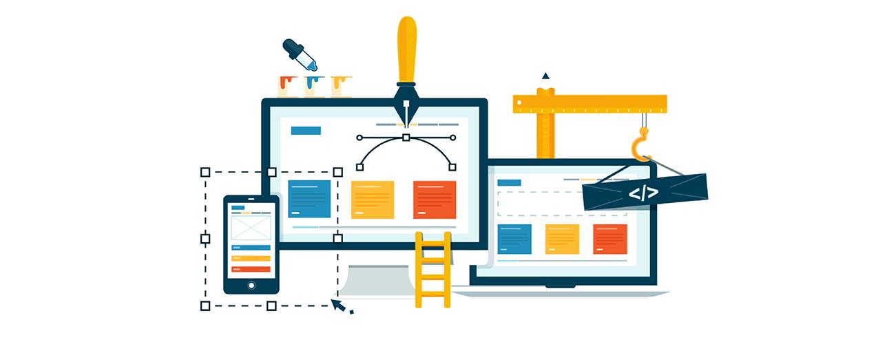 design components of a website