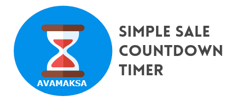 Simple Sale Countdown Timer