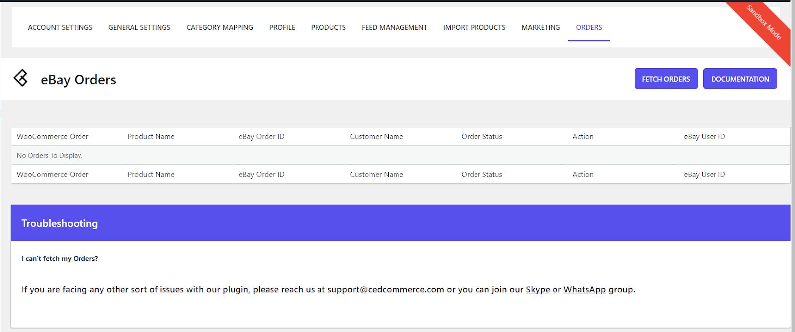 Ebay-Integration für WooCommerce