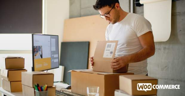 business owner shipping orders internationally