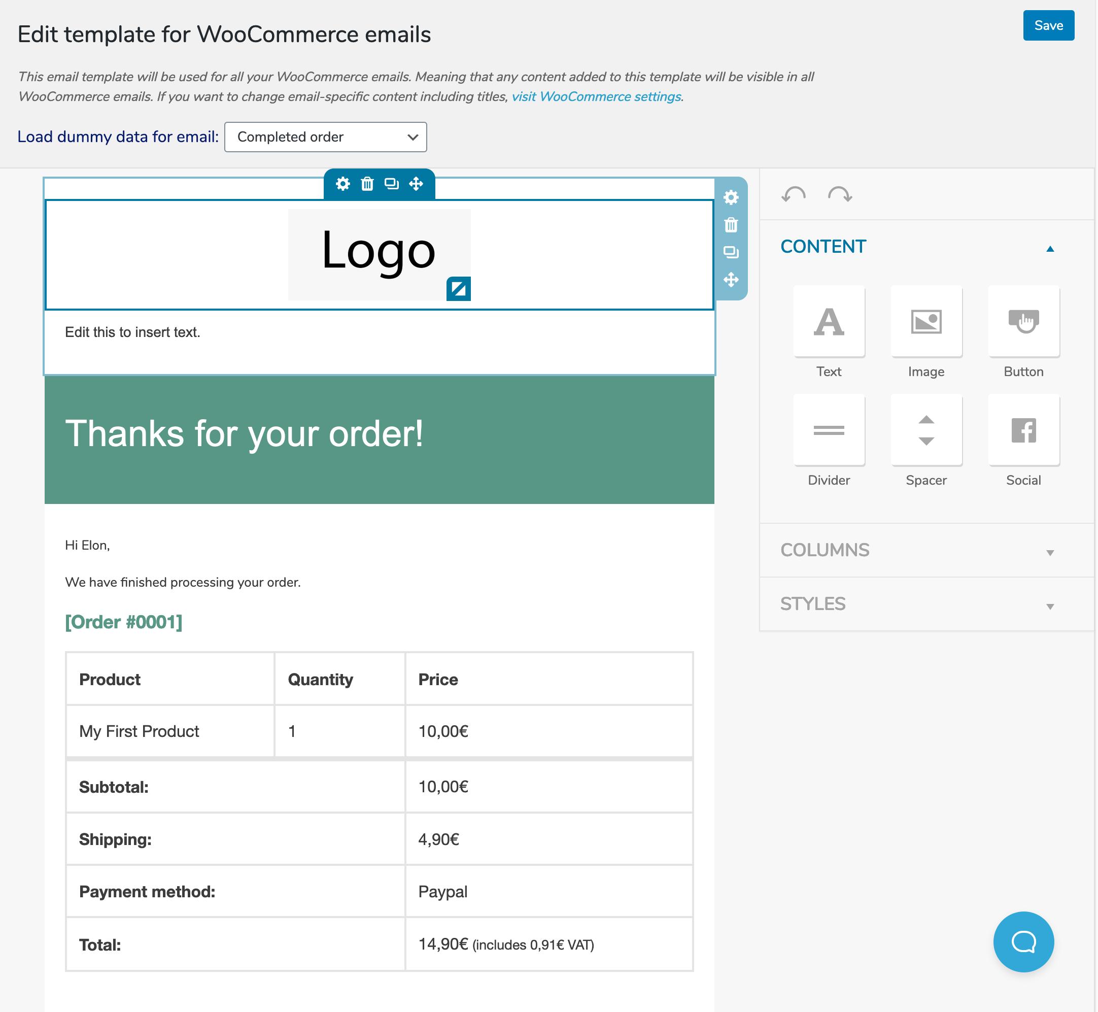 MailPoet Interface