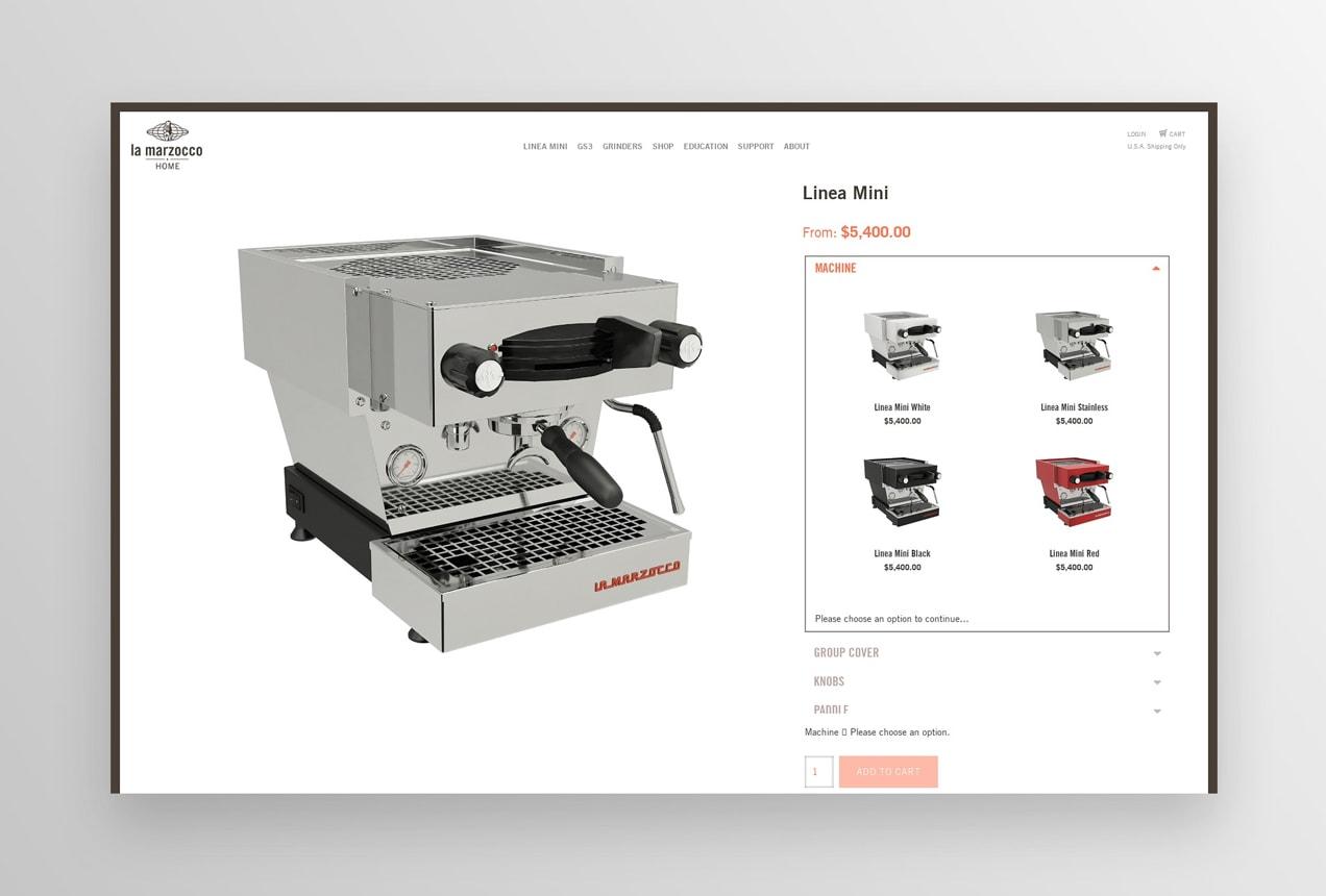 customizable espresso machine from la marzocco