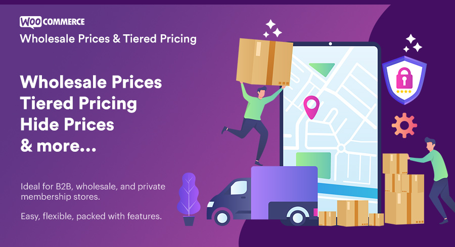 wholesale prices & tiered pricing