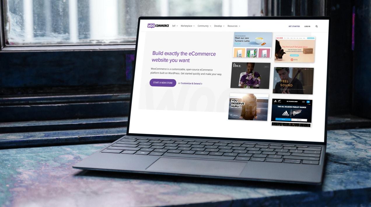 WooCommerce welcome screen