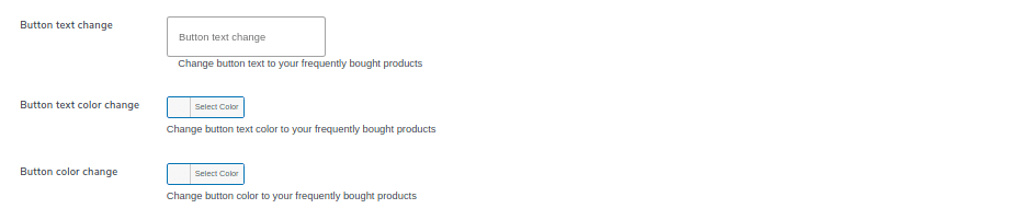 customize frequently bought label