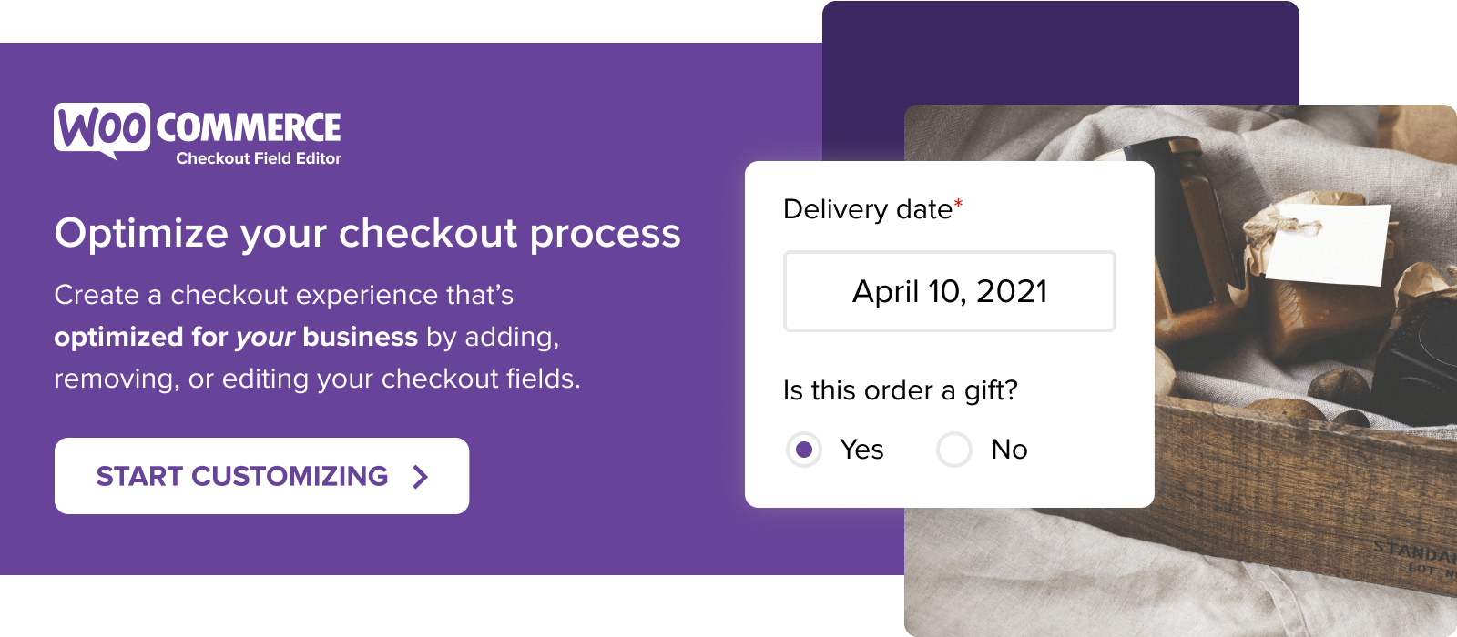 Optimize your checkout process with WooCommerce Checkout Field Editor