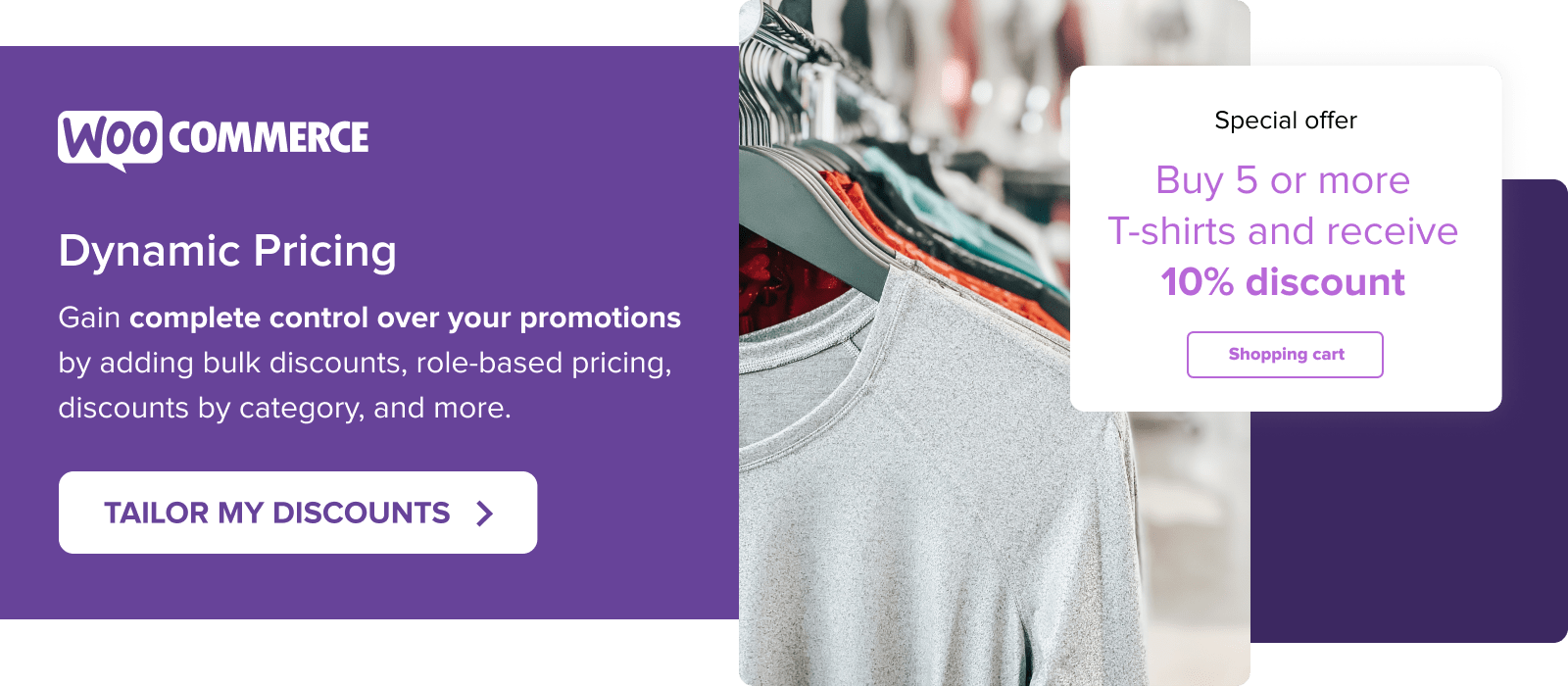 Run tailored sales and promotions with the Dynamic Pricing extension