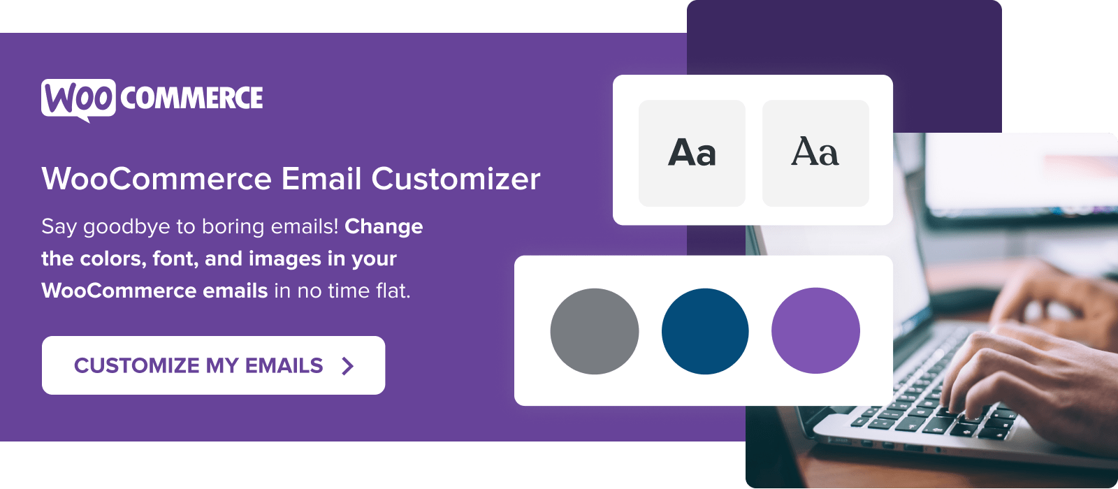 Edit your WooCommerce emails with the WooCommerce Email Customizer