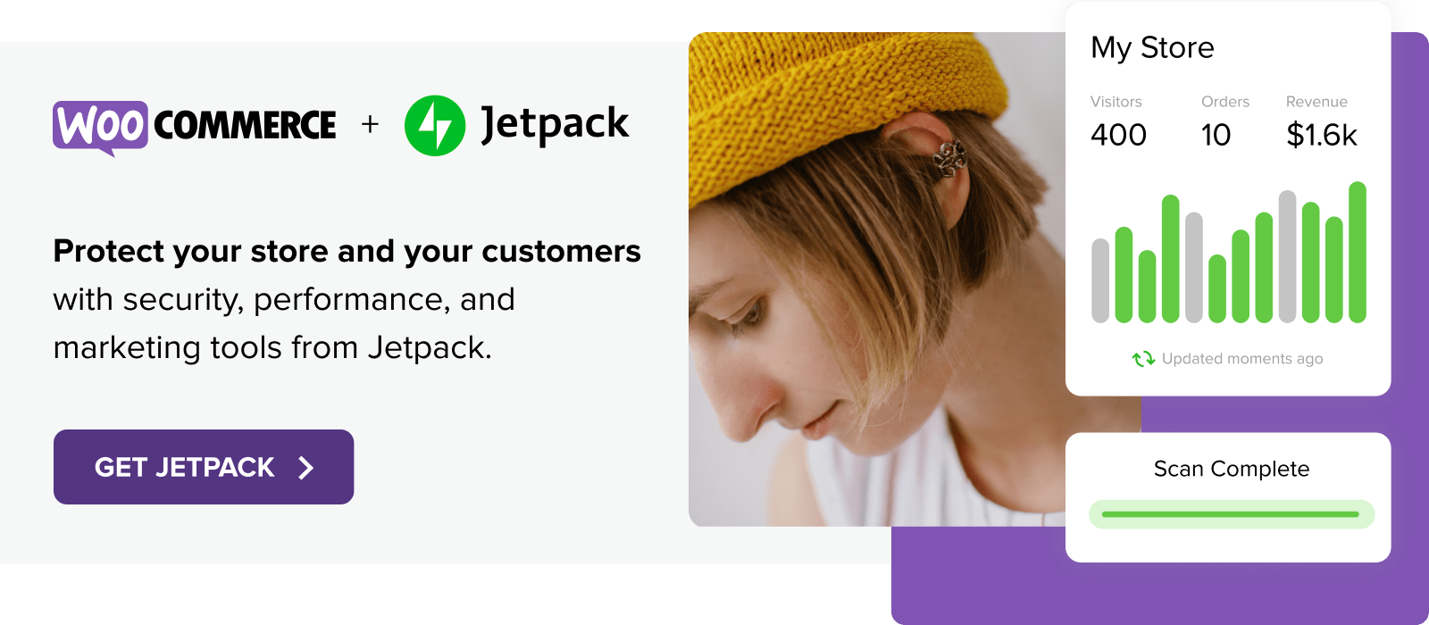 Protect your store and your customers with Jetpack
