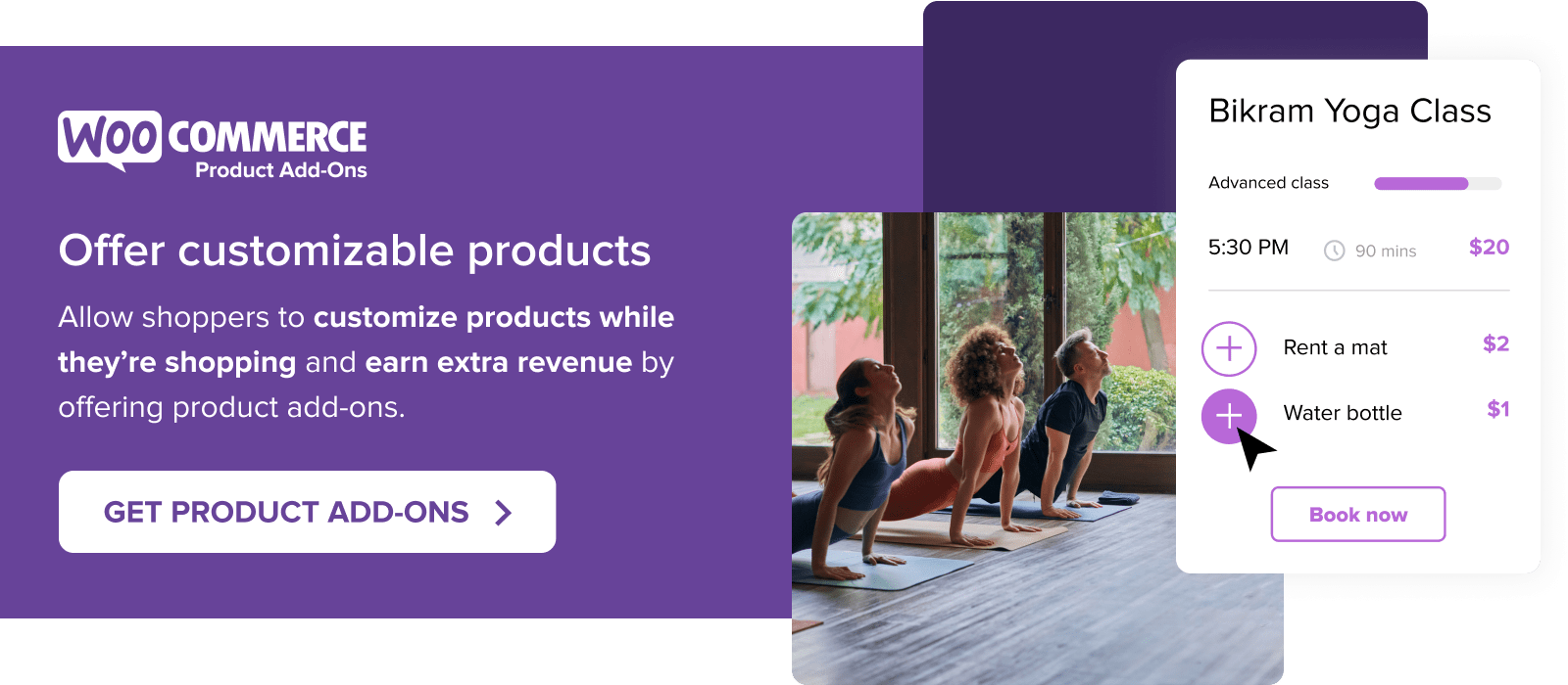 Offer customizable products with WooCommerce Product Add-ons