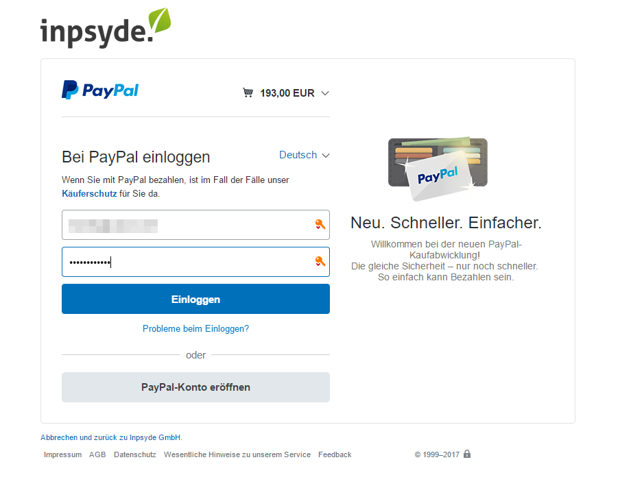 Paypal Germany